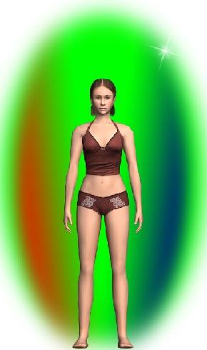Основной зеленый цвет ауры